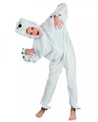 Polarbär Eisbär Kinderkostüm Plüschkostüm Straßenkarneval Tieroverall