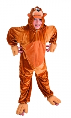 Monkey Kinderkostüm Affenkostüm Overall Jumpsuit Tierkostüm