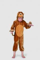 Affe Kinderfasching Karneval Mottoparty Tierkostüm