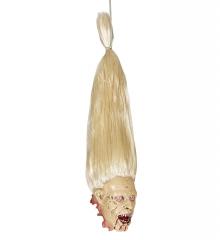Abgetrennter Kopf Zombie Halloweendekoration Grusel Horror