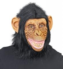 Affe Affenmaske Schimpanse Tiermaske Dschungel Zoo Zirkus