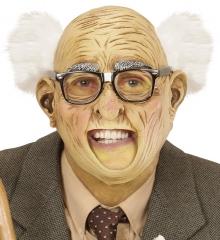 Alter Mann Opamaske mit Haaren Opa Großvatermaske