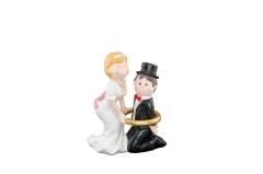 Braut Bräutigam Hochzeit Figuren Brautpaar Kuchenaufsatz Tortenaufsatz
