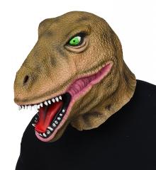 Dino Dinosaurier Tyrannosaurus Rex Ganzkopfmaske