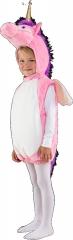 Einhorn Weste mit Kapuze Flügel Pferd Pink Größe 104 Karneval
