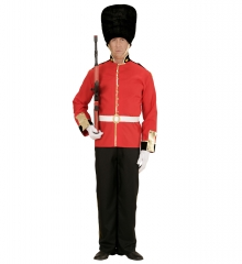 Englischer Soldat Gardesoldat Garde Wachsoldat London Königsgarde