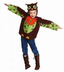 Eule Eulenkostüm Kinder Kautz Uhu Waldvogel 104, 116, 128