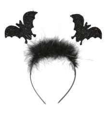 Fledermaus Haarreif Fledermäuse Halloween Vampir