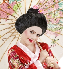 Geisha Japanerin Asien Kinderperücke Chinagirl