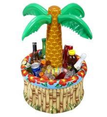 Getränkekühler aufblasbare Palme Poolparty Strandparty