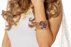 Goldfarben Armreifen Bauchtanz Modeschmuck Armband