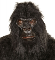 Gorilla Affe Affenmaske Gorillamaske Affenkostüm