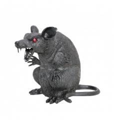 Große Ratte Halloweendekoration Kunststoffratte künstliche Ratte