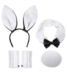 Hase Bunny-Set Osterhase Häschen 5 teilig Party Out-Fit