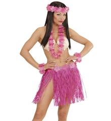Hawaii Set Hula 6 teilig Hawaiimädchen Junggesellinenabschied