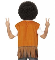 Hippieweste Hippiekleidung 60er 70er Jahre Mottoparty Peace Woodstock