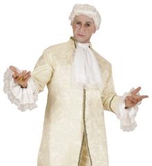 Jabot Spitzenjabot Spitzenärmel im Set Mittelalter Baron Marquis