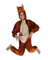 Känguru Buschkänguruh 104/116 Tierkostüm Kinder Zoo Zirkus