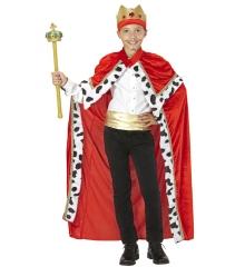 Kinderkönig König Königsumhang Zepter Königszepter heilige drei Könige