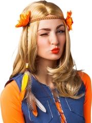 Kopfband Blumenhaarband Sommerhit Ibiza-Stil Hippie Strandparty Urlaub