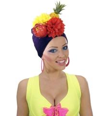 Kopfbedeckung Obst Früchte Obsthut Früchtehut Brazil Rio