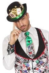Krawatte Casino Spieler Croupier Poker Outfit Roulette