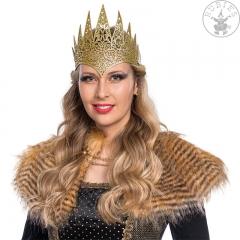 Krone König Königin goldfarben Diadem