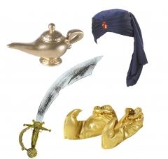 Maharadscha Raja Sultan Alibaba Aladin Orient Kostüm Emir 1001 Nacht