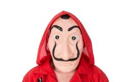 Maske Haus des Geldes Salvador Dali La Casa De Papel