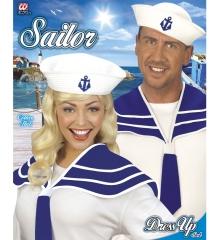 Matrosenkragen Matrosenmütze Shanty Matrose Seemann Seefahrer Maritim