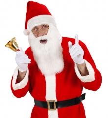 Nikolaus Weihnachtsmann Nikolausmütze mit Nikolausbart