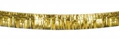 Party-Girlande gold oder silber Metallic Quastenband Partydekoration