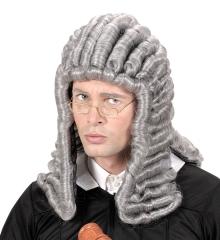Richterperücke grau Gerichtshof Richter Anwalt