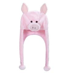 Schweinehut Tiermütze Schweinemütze Schwein Ferkel