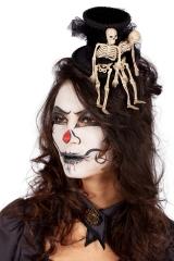 Skelett Halloweenhut Voodoo Zylinder Día de los Muertos