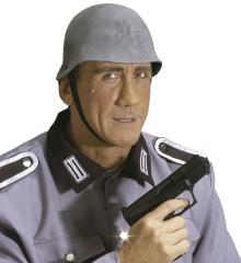 Soldatenhelm aus Latex Wehrmacht Armee Soldat zweite Weltkrieg