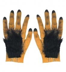 Vampir Werwolf  Hände beharrt Halloween Untote Blutsauger