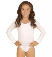 Weißer Kinderbody Body weiß 116/128 oder 140/152