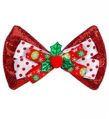 Weihnachtsfliege Weihnachtsfeier Nikolaus Fliege Schleife rot oder gold