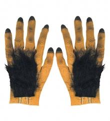 Werwolf Monsterhände behaarte Hände Krallenhand Affe Gorilla
